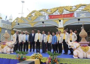 Chiang Mai : la construction du tunnel de Fah Ham terminée
