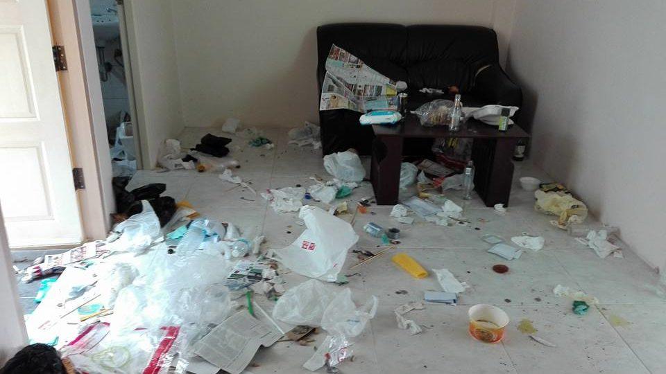 Un couple de Chinois a rendu un appartement dans un état déplorable à son propriétaire, après y avoir passé seulement 2 nuits, à Phuket