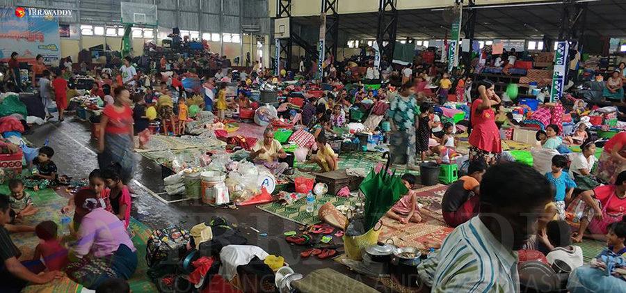 Les inondations en cours en Birmanie ont forcé plus de 16 000 personnes à quitter leur foyer