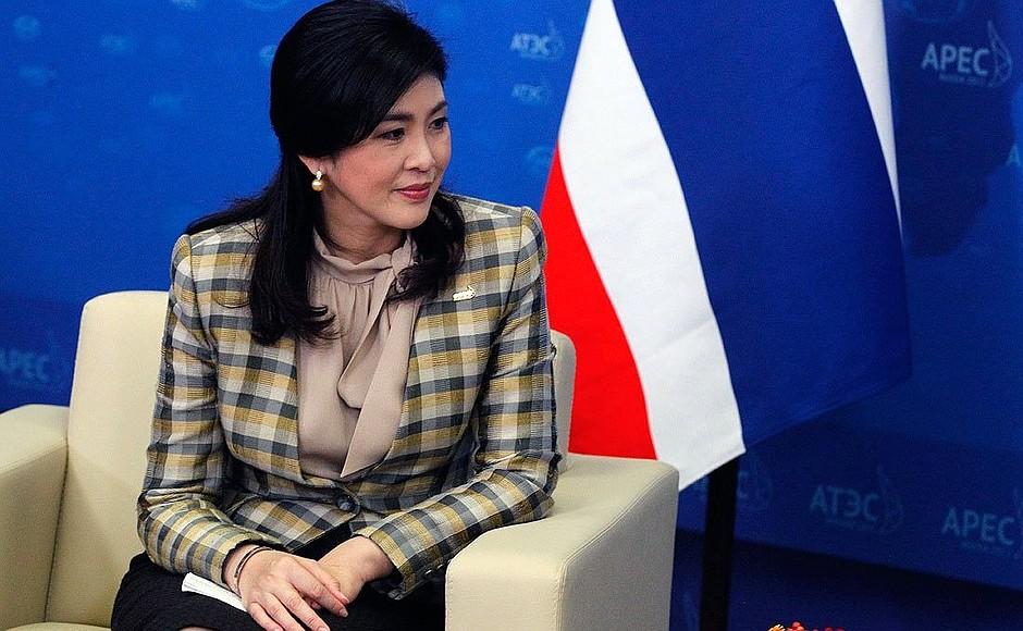 Le Gouvernement thaïlandais a demandé au Royaume-Uni l'extradition de l'ancienne Premier Ministre Yingluck Shinawatra
