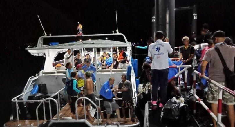 Au moins un mort et plusieurs dizaines de touristes chinois disparus sont à déplorer après le naufrage de deux bateaux au large de Phuket