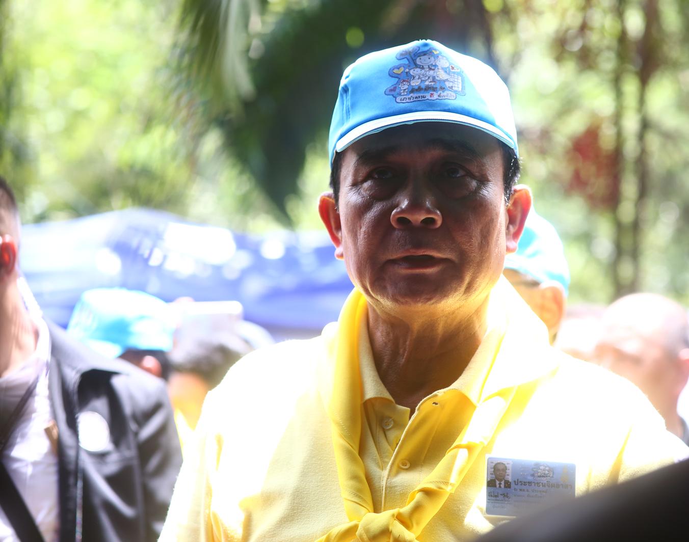 Le Premier Ministre a remercié les sauveteurs et l'ensemble des personnes impliquées dans les opérations visant à retrouver et évacuer les 13 personnes coincées dans la grotte de Tham Luang, dans le nord de la Thaïlande