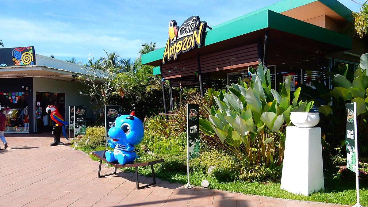 Un point de vente Café Amazon à Phang Nga