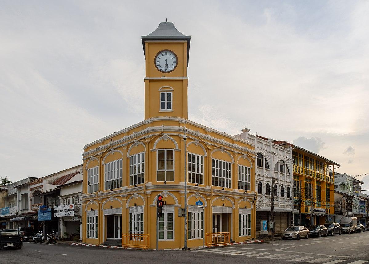 L'architecture sino-portugaise influence de nombreux bâtiments de la vieille ville de Phuket