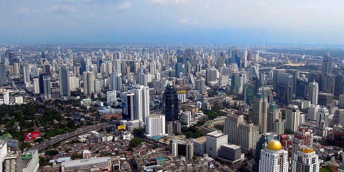 La capitale thaïlandaise Bangkok est aussi la plus grande ville du pays