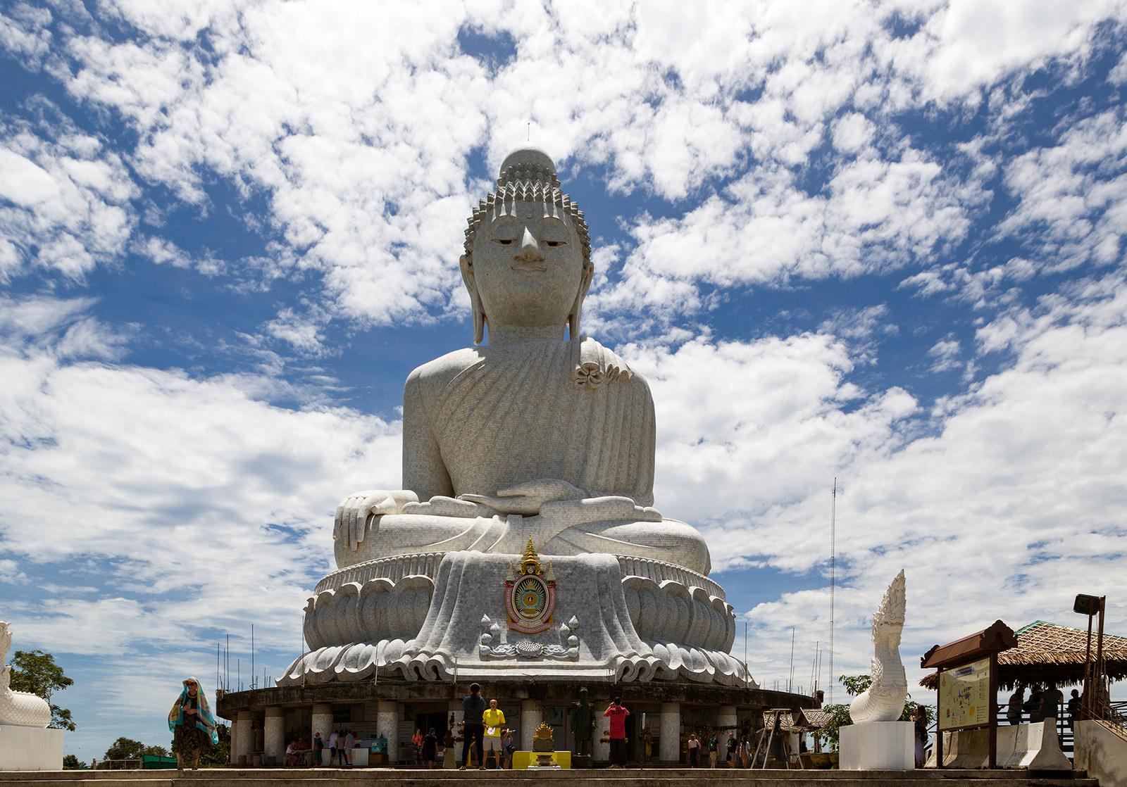 Le Grand Bouddha de l'île de Phuket