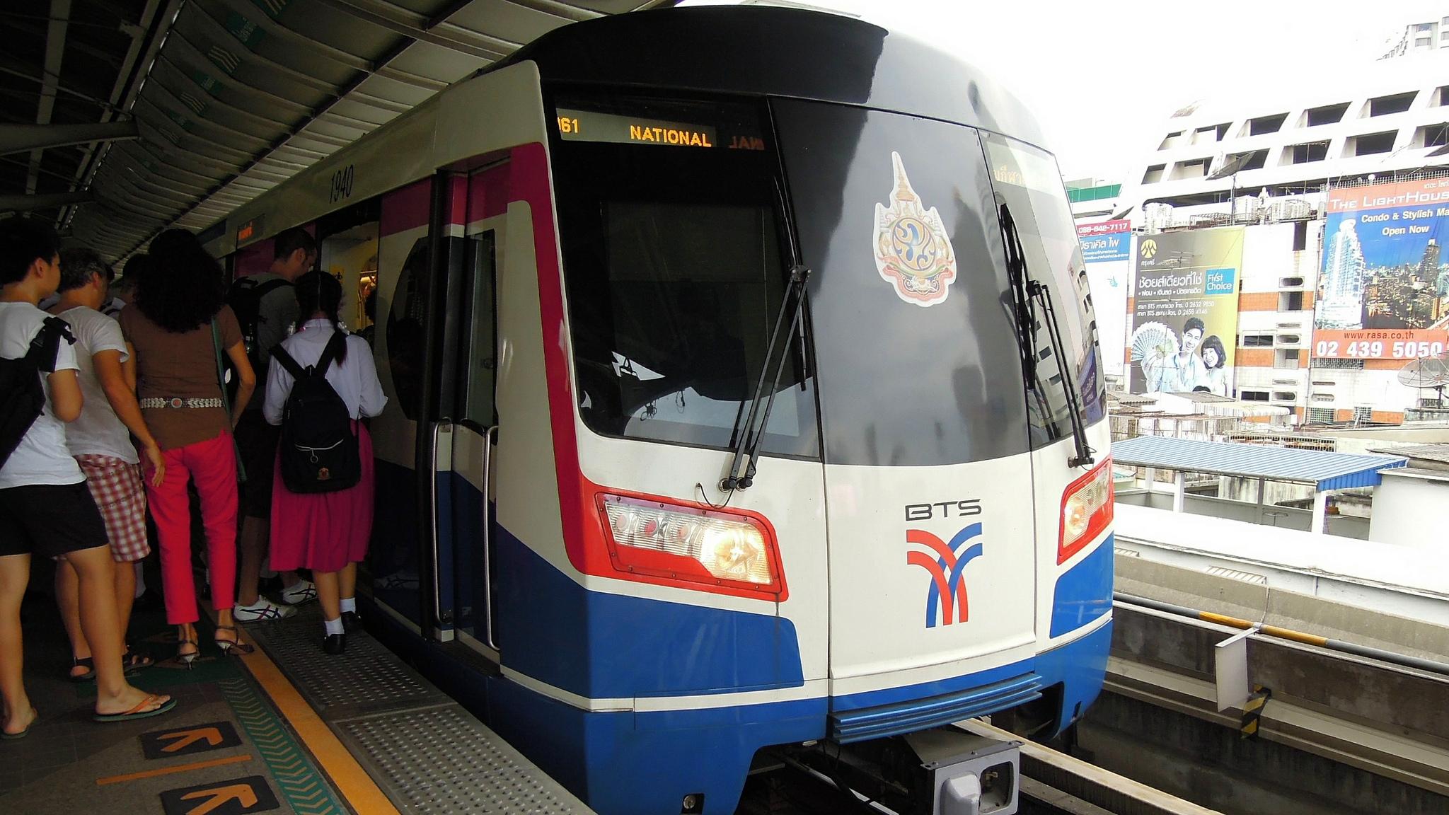 2,65 millions de personnes utilisent quotidiennement les transports en commun de Bangkok