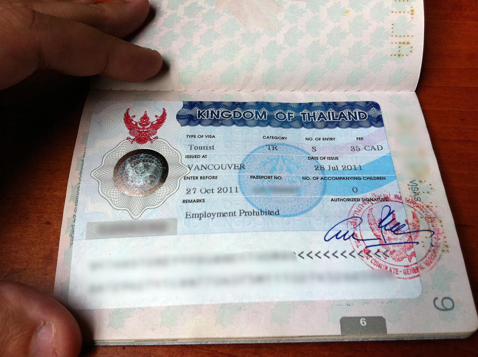 Le visa électronique thaïlandais va être mis à l'essai dans quatre pays avant la fin de l'année