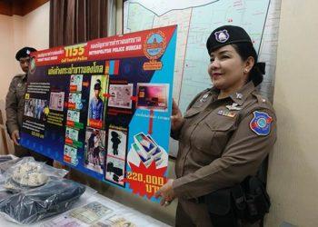 3 pickpockets mongols arrêtés 1 jour avant leur départ de Thaïlande