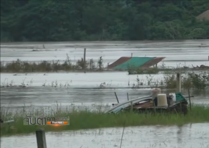 Au nord-est de la Thaïlande, 7 provinces sont actuellement touchées par d'importantes inondations