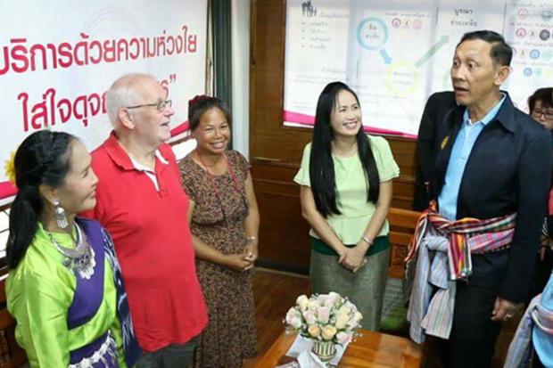 """Un """"centre de formation"""" pour les femmes thaïes qui prévoient de se marier avec un homme étranger a ouvert ses portes à Khon Kaen"""