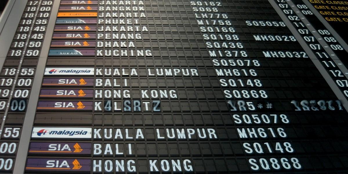 La liste des dix aéroports les plus fréquentés du monde pour la première moitié de l'année 2018