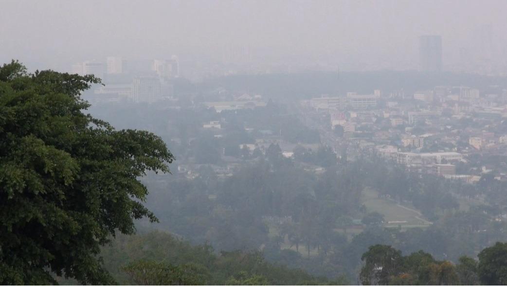 Certaines provinces du sud de la Thaïlande sont actuellement affectées par des fumées provenant des incendies de forêt en Indonésie