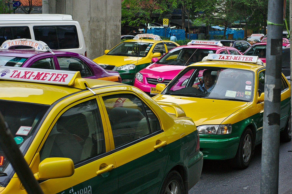 Plus de 14 000 chauffeurs de taxi ont été arrêtés en Thaïlande ces douze derniers mois