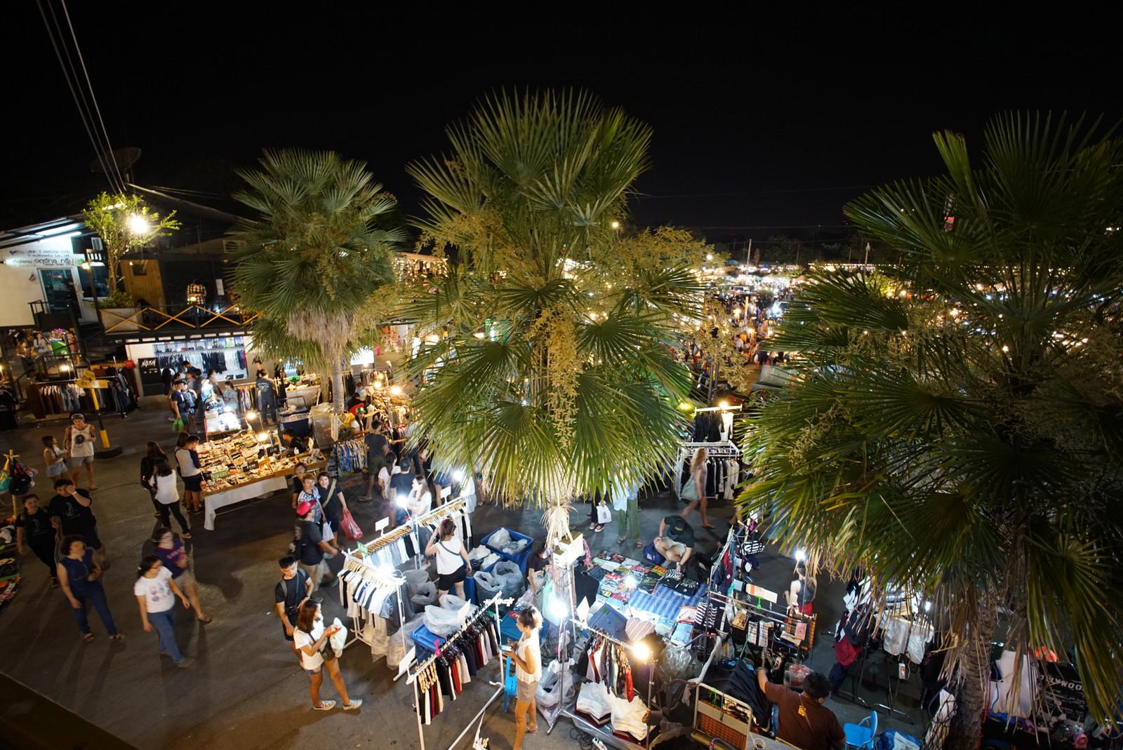 Après le 13 septembre, aucun vendeur ne sera autorisé dans le célèbre marché de nuit de la capitale thaïlandaise, le JJ Green Market