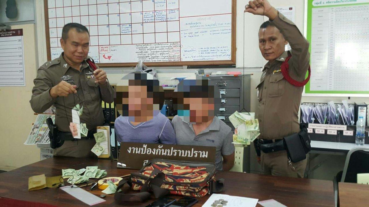 Deux ressortissants chinois ont été arrêtés pour avoir volé de l'argent dans un temple de Bangkok