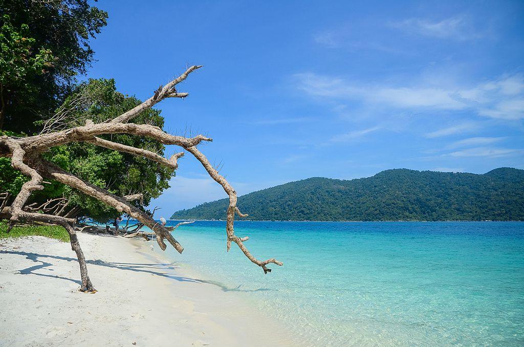 Une plage du parc marin national de Tarutao, dans le sud de la Thaïlande
