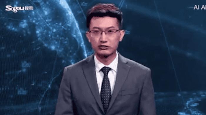 Le premier présentateur de JT issu de l'intelligence artificielle a fait ses débuts en Chine