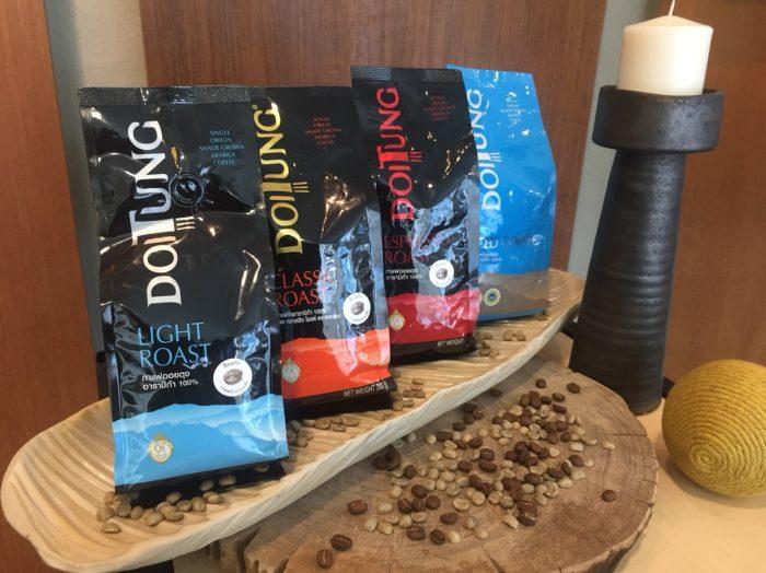 Le café Doi Tung est déjà exporté au Japon et il sera servi aux passagers de Japan Airlines à partir de décembre