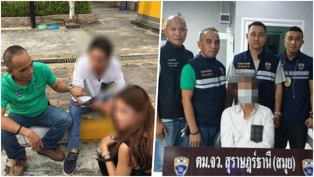 Un Français recherché par les autorités a été arrêté à Koh Samui