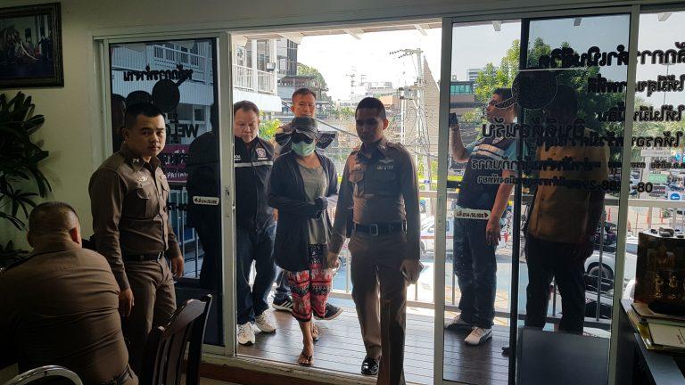 Une femme arrêtée à Pattaya avoir drogué et volé un Italien au début de l'année
