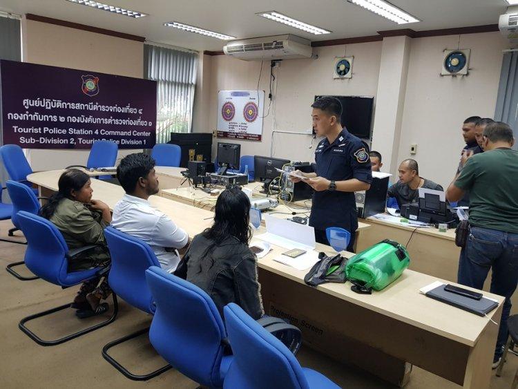 Un guide touristique indien travaillant illégalement en Thaïlande a été arrêté à Pattaya