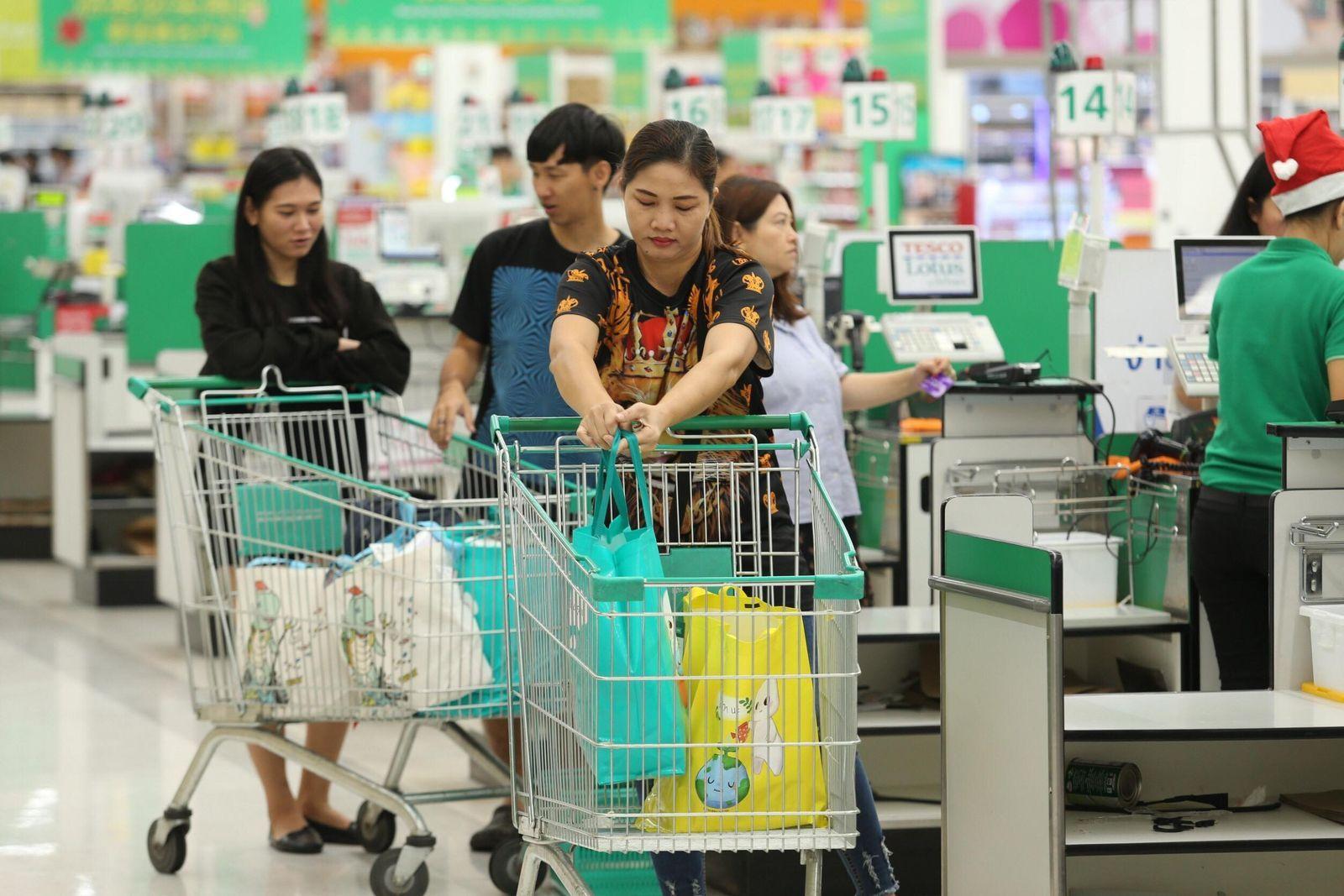 Les supermarchés et centres commerciaux thaïlandais veulent diminuer l'utilisation des sacs plastiques