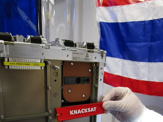 Le premier satellite conçu en Thaïlande réussit son entrée en orbite