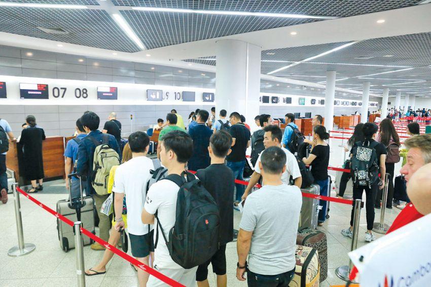 Cambodge : les aéroports internationaux accueillent plus de 10 millions de passagers en 2018