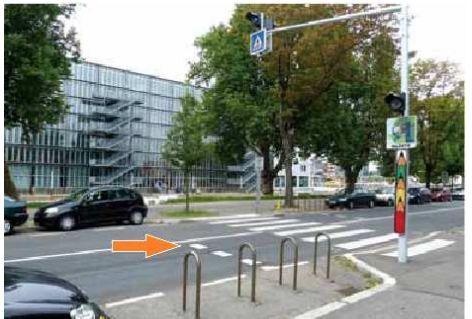 """Les automobilistes français risquent une amende de 35 € pour non-respect de la """"zone tampon"""" des passages piétons"""