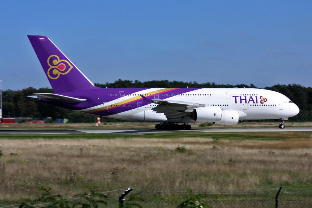 Un A380 Thai Airways légèrement endommagé à Paris-Charles-de-Gaulle