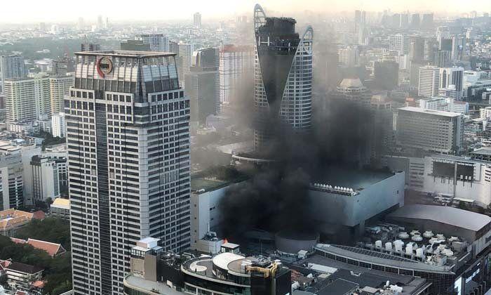 Bangkok : début de l'enquête suite à l'incendie meurtrier de CentralWorld