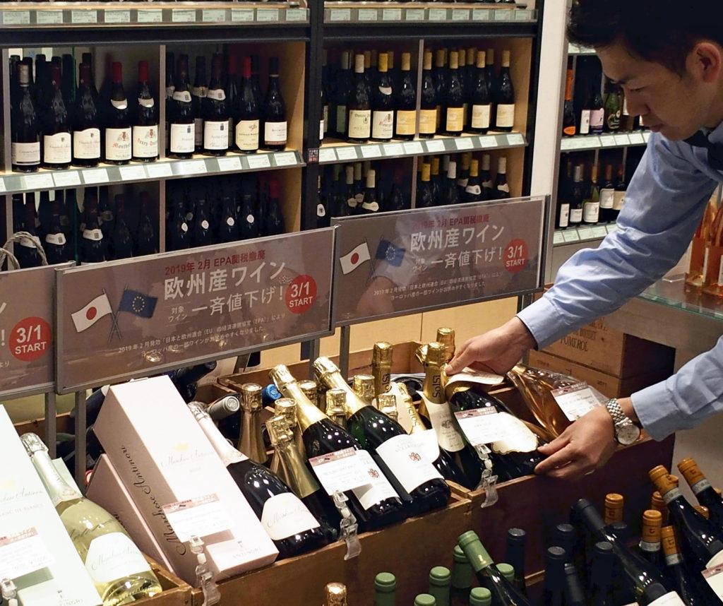 Japon : les producteurs locaux frappés par la flambée des importations de vin et de fromage européens