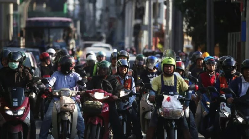 Thailand introduces a carbon tax for motorcycles