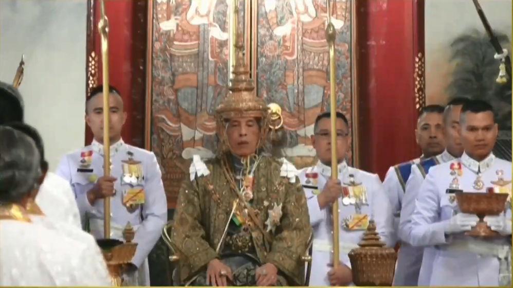 Thailand's King Maha Vajiralongkorn crowned Rama X