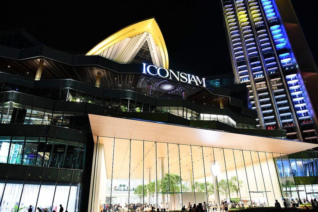Bangkok : le centre commercial Iconsiam remporte le prix du meilleur design