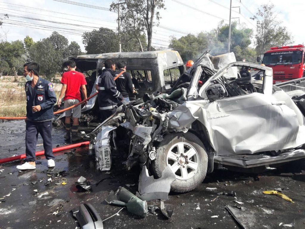 La mortalité routière reste un problème majeur en Thaïlande