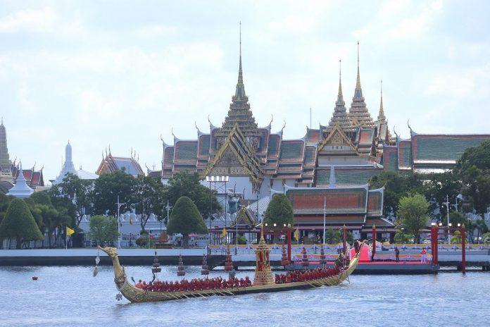 La procession de barges Royales en l'honneur du Roi de Thaïlande aura lieu le 24 octobre 2019 à Bangkok