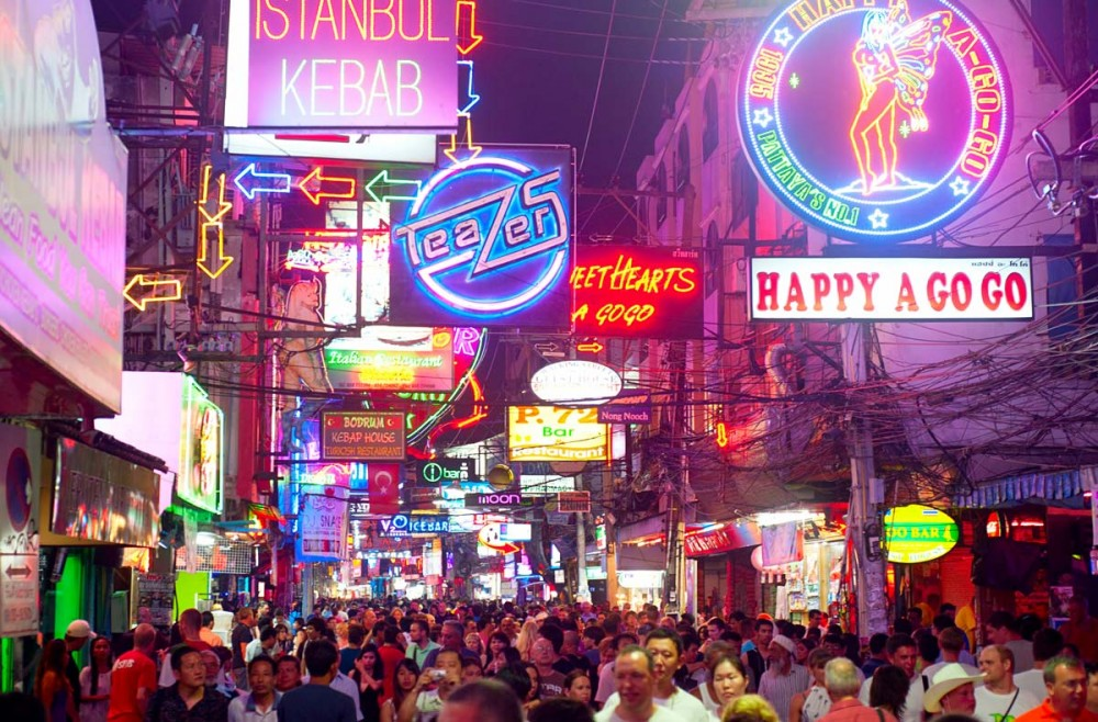 Pattaya : la fréquentation touristique européenne en chute libre