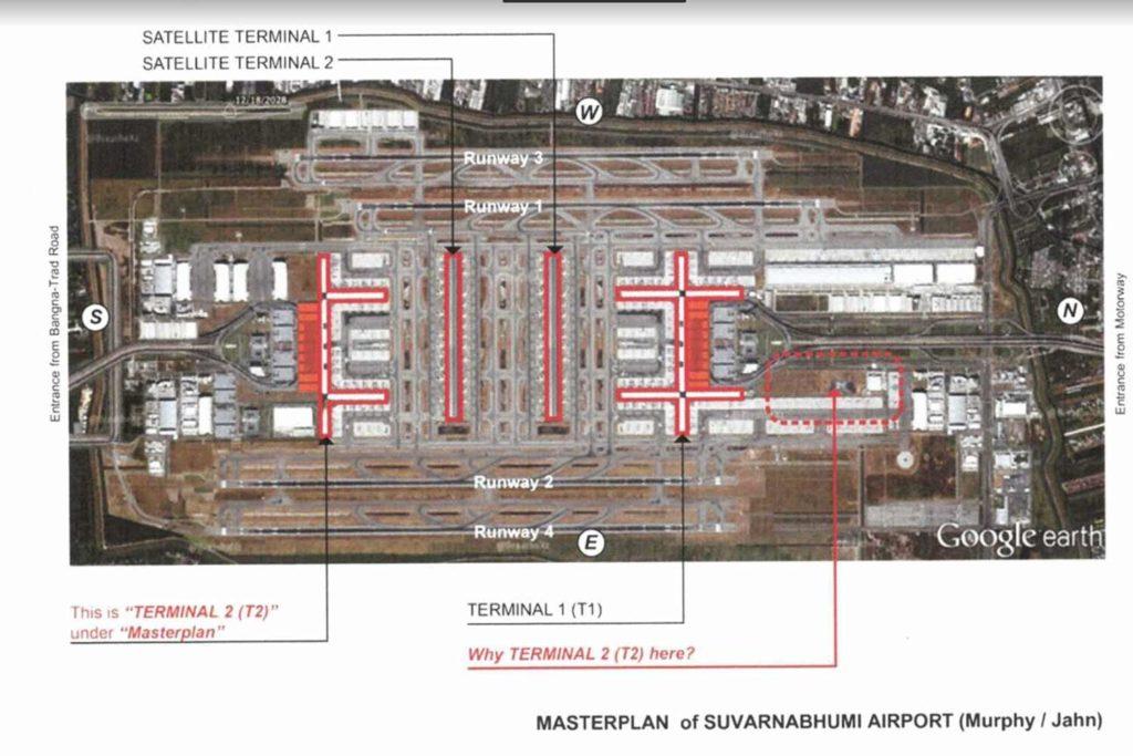 Bangkok-Suvarnabhumi : la construction du terminal 2 à nouveau critiquée