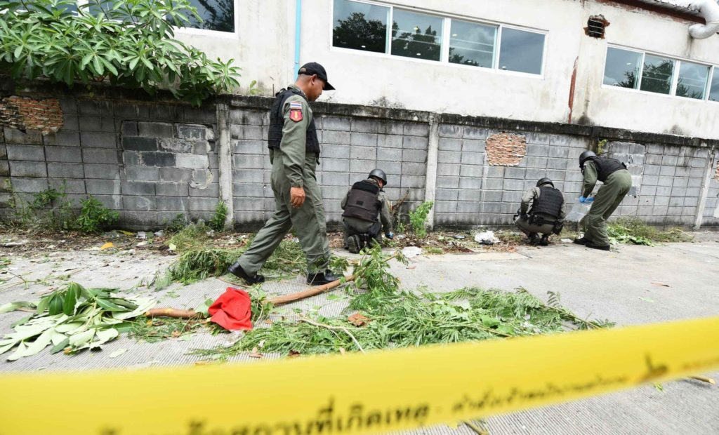 Bangkok : une série d'explosions secoue la capitale thaïlandaise vendredi matin