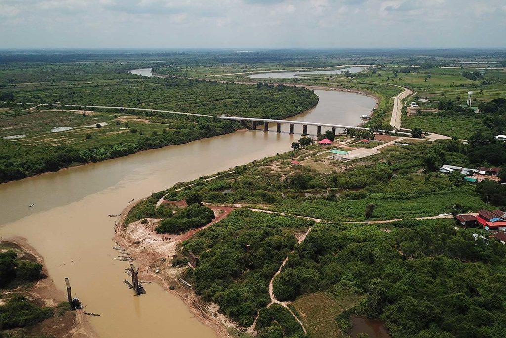 Thaïlande : le niveau d'eau du Mékong augmente mais reste faible