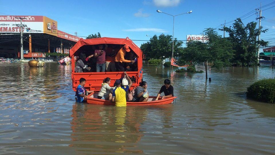 Inondations en Thaïlande : plus de 20 000 personnes toujours piégées dans le nord-est