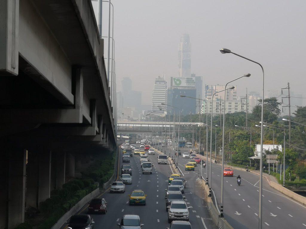 Le smog de retour dans la capitale thaïlandaise Bangkok