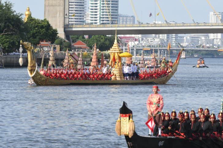 Thaïlande : la procession de barges Royales reportée au 12 décembre