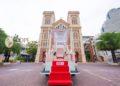 La papamobile pour la visite du Pape François en Thaïlande dévoilée