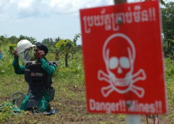 Le nombre de victimes des mines terrestres au Cambodge augmente de plus de 40 % cette année