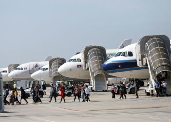 Cambodge : le trafic passager en hausse à Phnom Penh et Sihanoukville