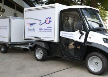 La Poste thaïlandaise déploie une flotte de véhicules électriques à Bangkok
