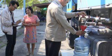 Des camions-citernes déployés pour approvisionner en eau 16 provinces de Thaïlande